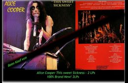 Alice Cooper - This Sweet Sickness - 2 Neue LPs - 100 % Brand New -RR- - Hard Rock & Metal