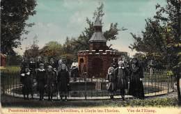 Pensionnat De Religieuses Ursulines, à Gierle Lez-Thielen . Vue De L'Etang. 1913. - Lille