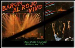 Baron Rojo - Baron Al Rojo Vivo Amazon - 2 Neue LPs Von 19?? - 100 % Brand New -RR- - Hard Rock & Metal