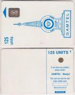 92/ Gambia; P2. Blue Logo, Flat Antenna, SC4, Hole 6 Mm, CN 19921 - Gambia