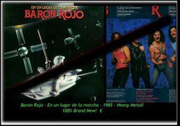 Baron Rojo - En Un Lugar De La Marcha - Neue LP Von 1985 - 100 % Brand New -RR- - Hard Rock & Metal