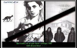 Barricada - Ni Se Que Hacer Contigo - Neue LP Von 1987 - 100 % Brand New -RR- - Hard Rock & Metal