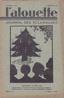 Les Scouts De France L Alouette Journal Des éclaireuses N°4  10 Décembre 1934 - Scoutisme