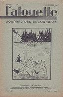 Les Scouts De France L Alouette Journal Des éclaireuses N°5  25 Décembre 1934 - Scoutisme