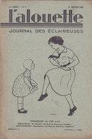 Les Scouts De France L Alouette Journal Des éclaireuses N°6  10 Janvier 1935 - Scoutisme