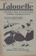 Les Scouts De France L Alouette Journal Des éclaireuses N°8  10 Février 1935 - Scoutisme