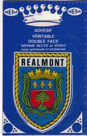 Adhésif De REALMONT - Realmont