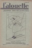 Les Scouts De France L Alouette Journal Des éclaireuses N°10  10 Mars 1935 - Scoutisme