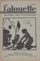 Les Scouts De France L Alouette Journal Des éclaireuses N°13  30 Avril 1935 - Scoutisme