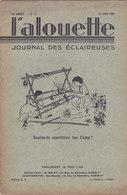 Les Scouts De France L Alouette Journal Des éclaireuses N°16  10 Juin 1935 - Scoutisme