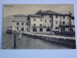 ITALIA VENETO CARTOLINA DA MALCESINE LAGO DI GARDA ALBERGO ITALIA VERONA FORMATO PICCOLO - Verona
