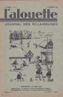 Les Scouts De France L Alouette Journal Des éclaireuses N°2  Novembre 1935 - Scoutisme