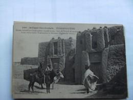 Africa Afrique Mali Tombouctou Old - Mali