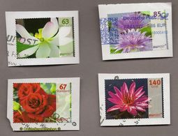 (L13) Privatpost - BW Postn - 4 Werte Blumen Blüten - Pflanzen Und Botanik