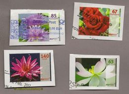(L13) Privatpost - BW Post - 4 Werte Blumen Blüten - Sonstige