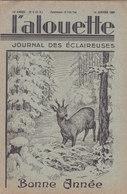 Les Scouts De France L Alouette Journal Des éclaireuses N°6  10 Janvier 1936 - Scoutisme