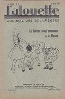 Les Scouts De France L Alouette Journal Des éclaireuses N°9 10 Mars 1936 - Scoutisme