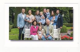 Royal Family Of Sweden Victoria Sofia Madeleine Silvia Estelle ( Groen 1 - Familles Royales