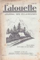 Les Scouts De France L Alouette Journal Des éclaireuses N°10 10 Mars 1936 - Scoutisme
