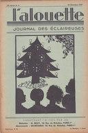 Les Scouts De France L Alouette Journal Des éclaireuses N°5 25 Décembre 1937 - Scoutisme