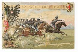 CAVALLEGGERI DI PADOVA 1883 ILLUSTRATA CS - NV FP - Regimente
