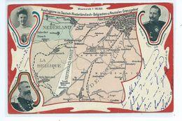Les Quatre Pays - Belgique-Nederland Deutschland Neutrales Gebiet - La Calamine - Kelmis