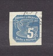 Bohemia & Moravia Böhmen Und Mähren 1939 Gest ⊙ Mi 43 Sc P2 Zeitungsmarken I., Newspaper Stamps I. C1 - Bohemia & Moravia