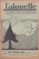 Les Scouts De France L Alouette Journal Des éclaireuses N°7 25 Janvier 1938 - Scoutisme