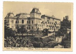 SANTA MARGHERITA LIGURE - ALBERGO PALAZZO IMPERIALE  VIAGGIATA FG - Genova (Genoa)