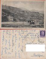 S. Lorenzo Di Casanova (S. Olcese - GE). Ferrovia. Viaggiata 1919 - Italia