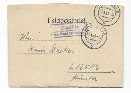 FELDPOSTBRIEF SPOHLE 1943 - Documents