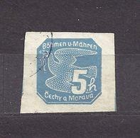 Bohemia & Moravia Böhmen Und Mähren 1939 Gest ⊙ Mi 43 Sc P2 Zeitungsmarken I., Newspaper Stamps I. C2 - Bohemia & Moravia