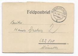 FELDPOSTBRIEF OLDENBURG  1944 - Documents