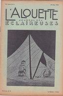 Les Scouts De France L Alouette Journal Des éclaireuses N°11  25 Mars 1938 - Scoutisme