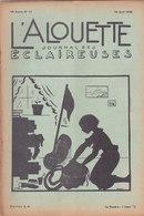 Les Scouts De France L Alouette Journal Des éclaireuses N°12  10 Avril 1938 - Scoutisme