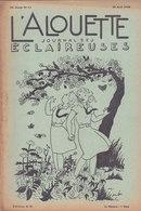 Les Scouts De France L Alouette Journal Des éclaireuses N°13  25 Avril 1938 - Scoutisme