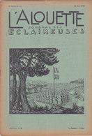 Les Scouts De France L Alouette Journal Des éclaireuses N°15  25 Mai 1938 - Scoutisme