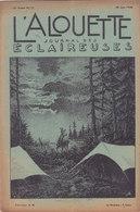 Les Scouts De France L Alouette Journal Des éclaireuses N°17  25 Juin 1938 - Scoutisme