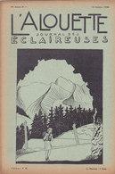 Les Scouts De France L Alouette Journal Des éclaireuses N°1  15 Octobre 1938 - Scoutisme
