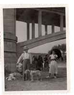 FOSSANO 1932 Sotto Il PONTE SULLO STURA Uomo Con Cane - Oggetti