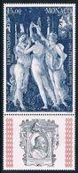 Monaco - 550e Anniversaire De La Naissance Du Peintre Sandro Botticelli 2010 (année 1995) ** - Unused Stamps