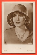 Women Femmes Attrici Actress Actrice Old Cpa Anita Page - Artistes