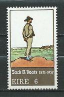 Ireland Eire  1971 The 100th Anniversary Of The Birth Of Painter Jack B. Yeats.MNH - 1949-... Repubblica D'Irlanda