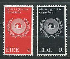 Ireland Eire 1971 International Year Against Racism .MNH - 1949-... Repubblica D'Irlanda