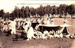 Algérie. Campement De La Musique Des Zouaves Aux Manoeuvres. - Other