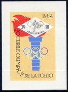 ROMANIA 1964 Olympic Games Block, MNH / **.  Michel Block 58 - Blocks & Sheetlets