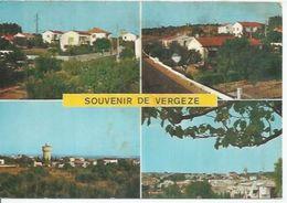30 - VERGEZE ( 4 VUES ) - Vergèze