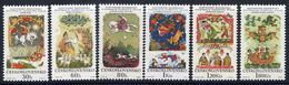 CZECHOSLOVAKIA 1968 Slovak Fairy Tales Set  MNH / **.  Michel 1844-49 - Tchécoslovaquie