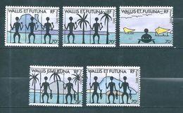 Timbres  De Wallis Et Futuna  Timbre De 1992   N°432 A 436  Neufs ** Tres Beaux - Wallis-Et-Futuna