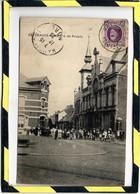 PATURAGES. - . MAISON DU PEUPLE - CIRCULEE EN 1923. CARTE ANIMEE - Colfontaine